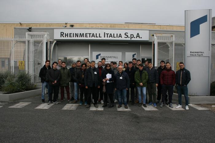 Visita alla Rheinmetall SpA