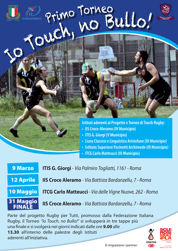 Progetto Touch Rugby 2017