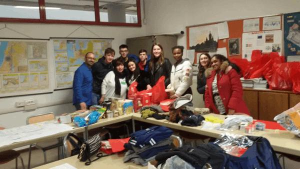Raccolta Caritas dicembre 2019