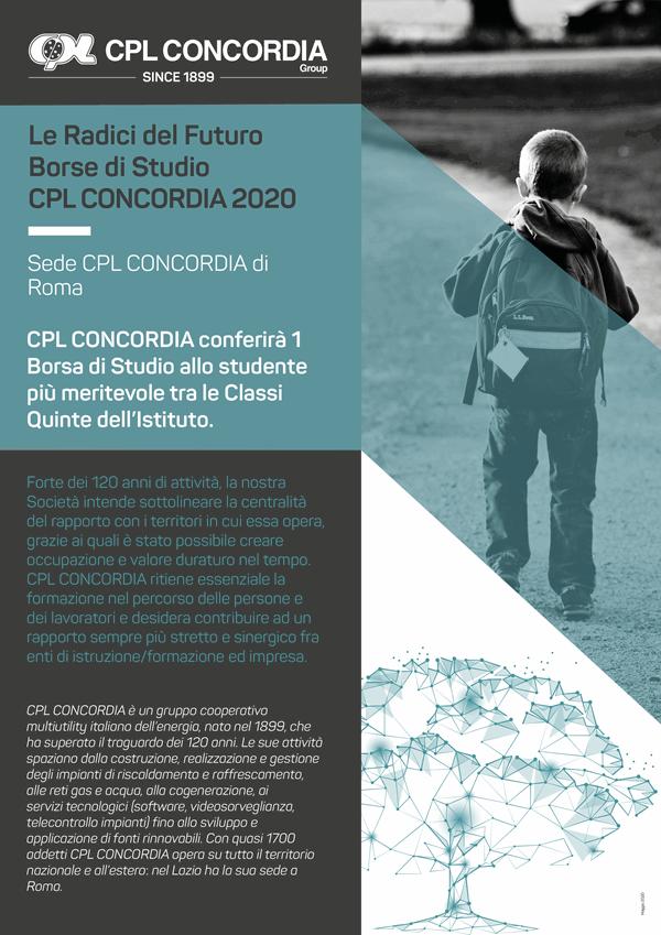 Borse di Studio CPL CONCORDIA 2020